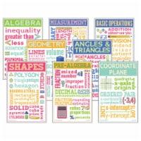 Math Chatter Charts, Set of 8 - 1