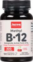 Jarrow Formulas Methyl B-12 Cherry Dietary Supplement Lozenges 500mcg