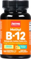 Jarrow Formulas Methyl B-12 Tropical Flavor Lozenges