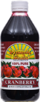 Dynamic Health 100% Pure Cranberry Juice Concentrate