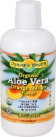 Dynamic Health Organic Orange Mango Flavor Aloe Vera Juice