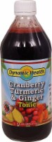 Dynamic Health  Gluten Free Tonic   Cranberry Turmeric & Ginger