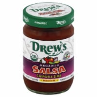 Drew's Organic  Salsa Chipotle Lime Medium