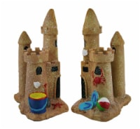 Enchanted Sand Castle Decorative Bookends - One Size
