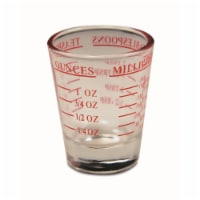 Wrap-Art 26674 1.5 oz Measured Shot Glass - Pack of 12 - 1