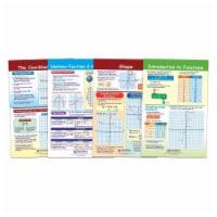 Math Bulletin Board Chart Set, Graphs & Functions, Set of 4 - 1