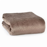 Better Living Shimmersoft Ultrasonic Blanket - Mocha Latte