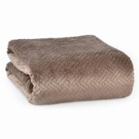 Better Living Shimmersoft Ultrasonic Blanket - Mocha Latte - Twin