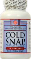Ohco Cold Snap Herbal Supplement Capsules 120 Count