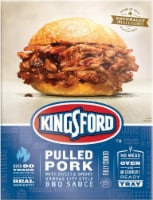 Kingsford Pulled Pork with Sweet & Smoky Kansas City BBQ Sauce