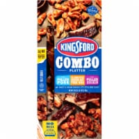 Kingsford Combo Platter Pulled Pork Center Cut Pork Ribs & Pulled Chicken Variety Pack