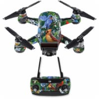 MightySkins DJSPCMB-Backyard Gathering Skin Decal for DJI Spark Mini Drone Combo - Backyard G