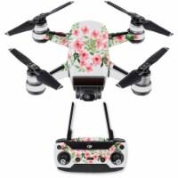 MightySkins DJSPCMB-Bouquet Skin Decal Wrap for DJI Spark Mini Drone Combo Sticker - Cheetah