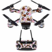 Mightyskins DJSPCMB-Donut Binge Skin Decal for DJI Spark Mini Drone Combo Sticker - Donut Bin - 1