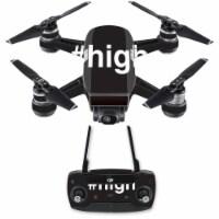 MightySkins DJSPCMB-High Skin Decal Wrap for DJI Spark Mini Drone Combo Sticker - High