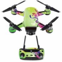 MightySkins DJSPCMB-Pastel Flourishes Skin Decal for DJI Spark Mini Drone Combo - Pastel Flou - 1