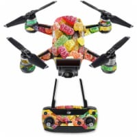Mightyskins DJSPCMB-Sour Candy Skin Decal for DJI Spark Mini Drone Combo Sticker - Sour Candy - 1