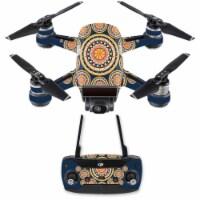 MightySkins DJSPCMB-Summer Mandala Skin Decal for DJI Spark Mini Drone Combo - Summer Mandala - 1