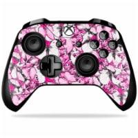 MightySkins MIXBONXCO-Butterflies Skin Decal for DJI Spark Mini Drone Combo - Pink Tree Camo - 1