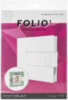 PhotoPlay Maker Series Folio 6 X6 -White - 1