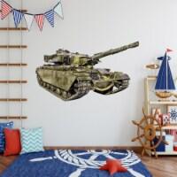 VWAQ Army Tank Wall Decals Military Wall Decor - PAS15 - 1