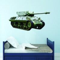 VWAQ Military Tank Wall Decal - US Army Wall Decor - PAS16 - 1