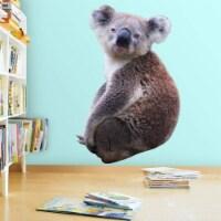 VWAQ Koala Vinyl Wall Decal - Koala Bear Wall Sticker Decor, Peel and Stick Animal - PAS23 - 1