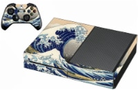 VWAQ The Great Wave Of Kanagawa Skin For Xbox One Console And Controller Skin - XGC8 - 1