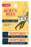 Burt's Bees Vanilla Bean Moisturizing Lip Balm - 2 ct