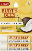 Burt's Bees Coconut & Pear Moisturizing Lip Balms