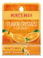Burt's Bees Flavor Crystals Sweet Orange Lip Balm