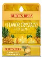Burt's Bees Flavor Crystals Tropical Pineapple Lip Balm