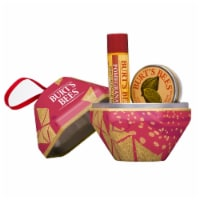 Burt's Bees Pomegranate Lip Balm and Lemon Butter Cuticle Cream Holiday Gift Set - 2 ct