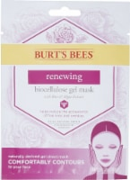 Burt's Bees Renewing Biocellulose Gel Face Mask