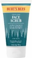 Burt's Bees Aloe & Hemp Cooling Face Scrub for Men - 4 oz