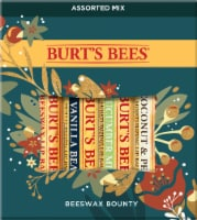 Burt's Bees Bounty Assorted Mix Holiday Gift Lip Balm Set