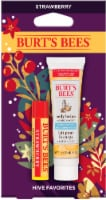 Burt's Bees Hive Favorites Strawberry Holiday Gift Set