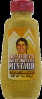 McCaffrey's Rocky Mountain Brown Spicy Mustard - 12 oz