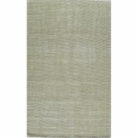 Rugs America 25247 Williams Stonewash Moss Rectangle Solid Rug, 2 x 3 ft.