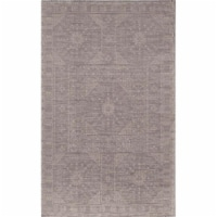 Rugs America 25528 Gray Rectangle Oriental Rug, 5 x 8 ft.