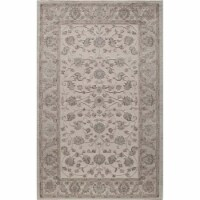 Rugs America 25777 New Dynasty Ivory Charcoal Rectangle Oriental Rug, 2 x 4 ft. - 1