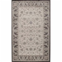 Rugs America 25942 Riviera Ivory Black Rectangle Oriental Rug, 2 ft. 7 in. x 4 ft. 11 in.