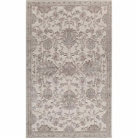 Rugs America 26018 Riviera Cream Rectangle Oriental Rug, 2 ft. 7 in. x 4 ft. 11 in.