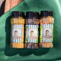Mom Cave Foods Lemon Lovers Spice 3 Pack - includes Lemon Garlic, Queens Dressing, Sour Lemon