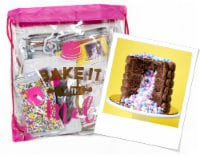 Bake it With Mel - Chocolate Cake Surprise Baking Activity Kit - 1 count