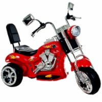Lil Rider 80-VC108 Lil Rider Red Rocking Three Wheel Chopper  Motorcycle - 1