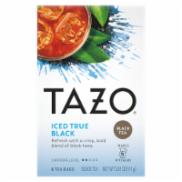 Tazo Iced True Black Tea Bags 6 Count