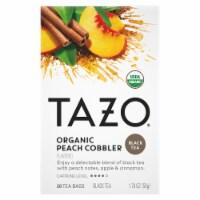 Tazo Organic Peach Cobbler Black Tea