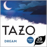 Tazo Dream Caffeine Free Herbal Tea Bags 20 Count