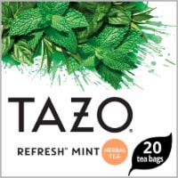 Tazo Refresh Mint Herbal Tea Bags